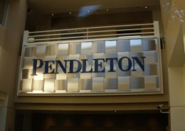 PENDLETON - Corporate - interior lobby sign
